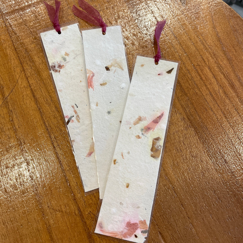 Paper Pulp Book Mark - Paper Craft Miracles