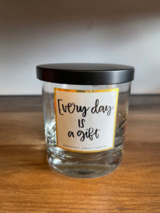 Sparklefly Empty Jar - Everyday is a Gift