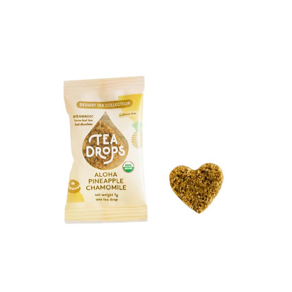 Single Serve Tea Drops - Aloha Pineapple Chamomile