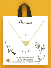 Load image into Gallery viewer, Stainless Steel Heart Pendant Delicate Necklace