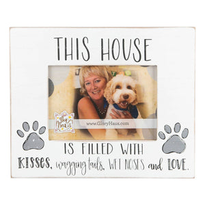 This House is Filled With Kisses, Wagging Tails, Wet Noses and Love Frame