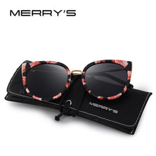 Load image into Gallery viewer, MERRY'S Women Classic Brand Designer Cat Eye Polarized Sunglasses Fashion Sun Glasses S'6018