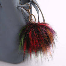 Load image into Gallery viewer, Cute Pendant Key Ring Pompom