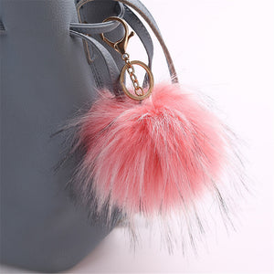 Cute Pendant Key Ring Pompom