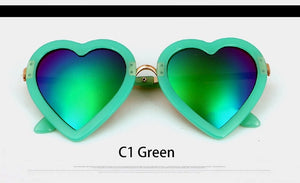 Vintage Children Heart Sun Glasses