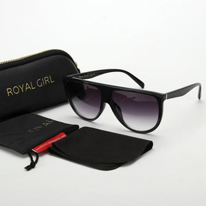 ROYAL GIRL 2017 NEW style Vintage Sunglasses for women Acetate Retro Designer Sun glasses ss113