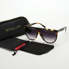 Load image into Gallery viewer, ROYAL GIRL 2017 NEW style Vintage Sunglasses for women Acetate Retro Designer Sun glasses ss113