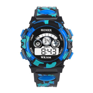 Outdoor Multifunction Waterproof kid Child/Boy's Sports Electronic Watches