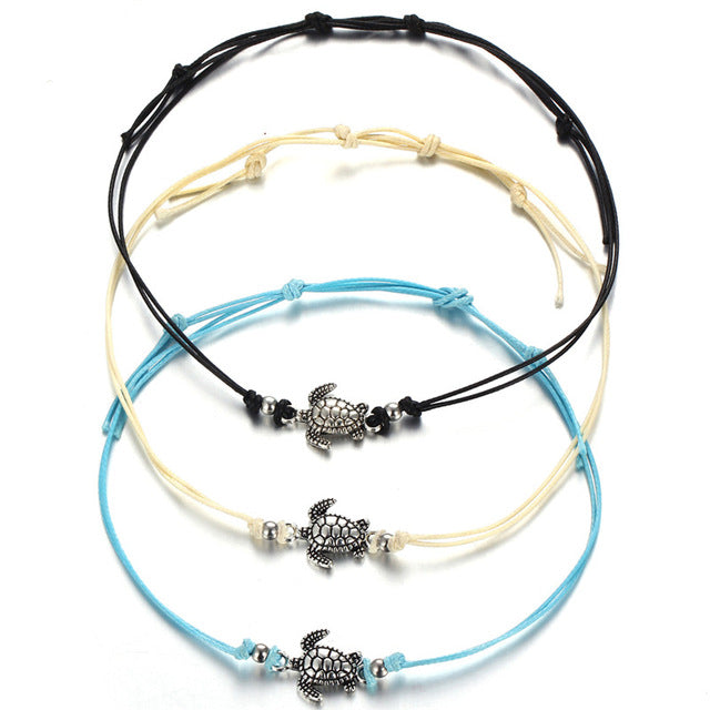 Vintage Multiple Layers Turtle Bracelets For Women and Girls