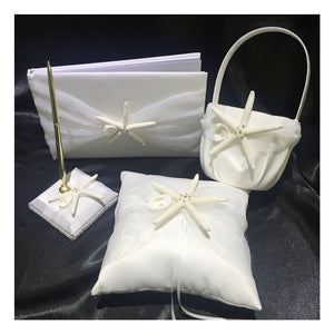 4Pcs Starfish Wedding Ceremony Set