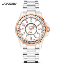 Load image into Gallery viewer, Bling Rhinestone Quartz Ladies Wristwatch