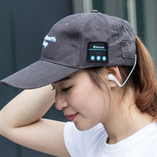 Load image into Gallery viewer, Headset Hat Mic Bluetooth