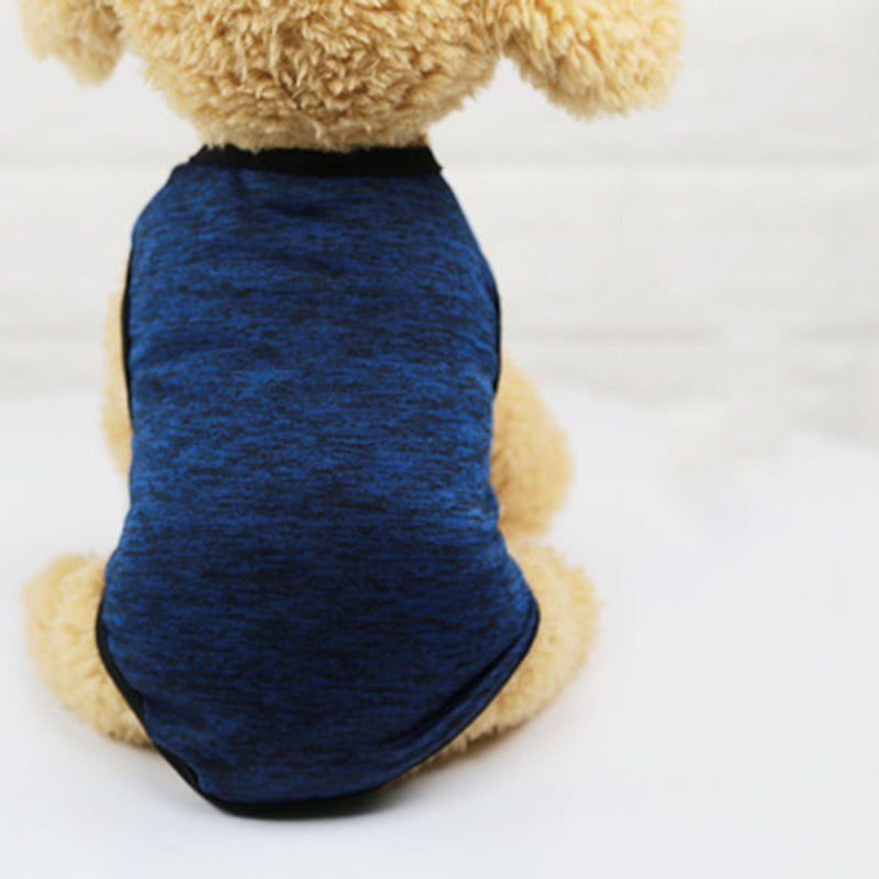 Warm Cotton Small Dog Vest