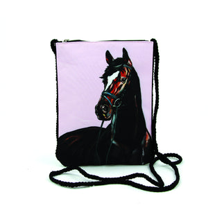 Stallion Crossbody Pouch in Polyester