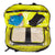 gym bag Includes 2 detachable mesh-panel pouches for shoes and laundry