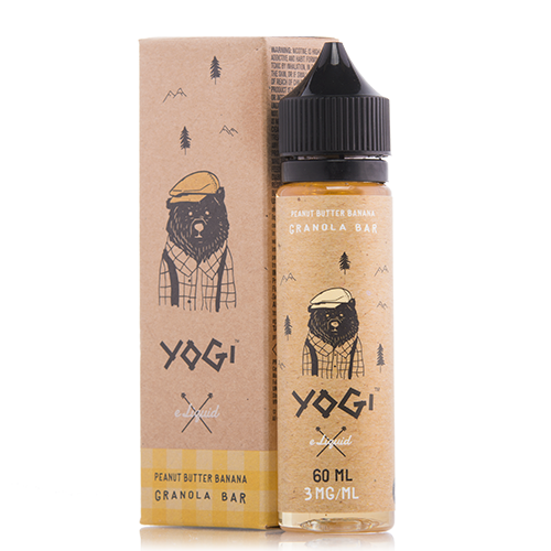 Yogi - Peanut Butter Banana Granola Bar - 60ML