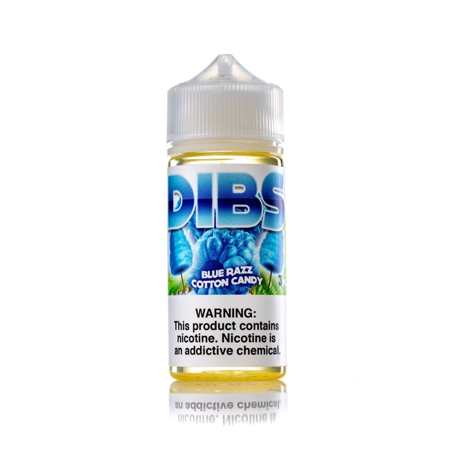 DIBS - Blue Raspberry Cotton Candy - 100 ML