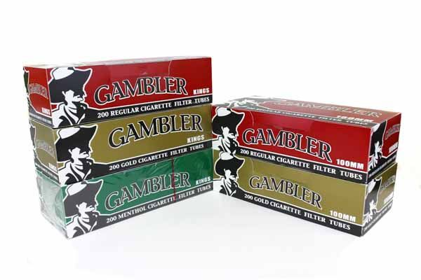 Gambler King Cigarette Filter Tubes