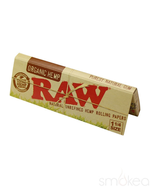 RAW - 1-1/4 Organic papers