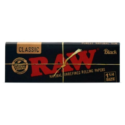 RAW - 1-1/4 Black Papers
