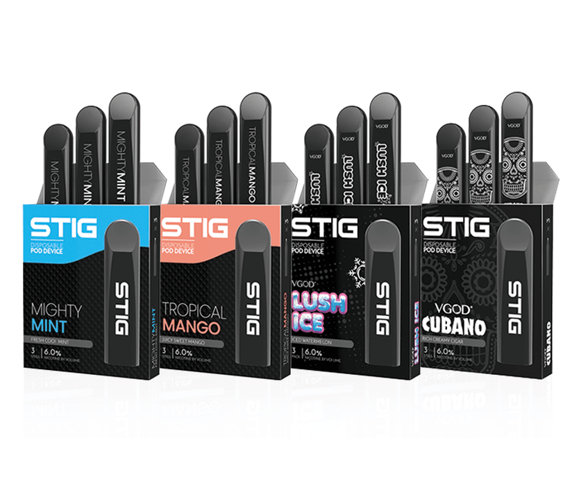 Stigs - (3 Pack) Disposable Pod by VGOD