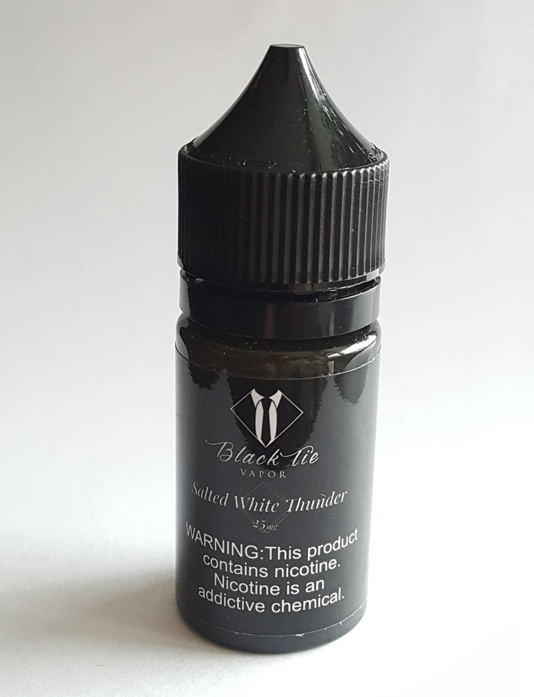 Salt - White Thunder - Black Tie Vapor
