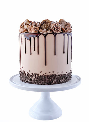 Double Chocolate Party Cake