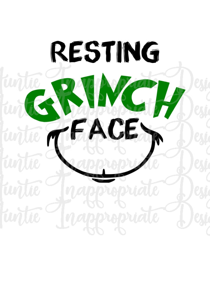 This is an image of Printable Grinch Face throughout free grinch hand