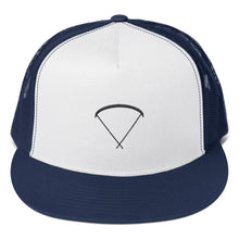 Load image into Gallery viewer, Aloft - Up Glider, Embroidery, Flat Brim Snapback