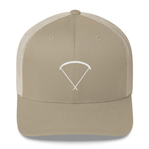 Aloft - Up Glider, embroidery on Trucker Cap