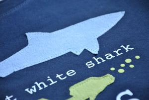 Shark Birthday Party Shirt, Shark Birthday theme shirt