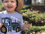 Tractor Birthday T-Shirt, Farm Party theme shirt