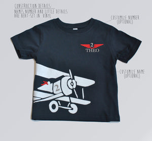 Airplane Birthday Party Shirt, Airplane Birthday theme