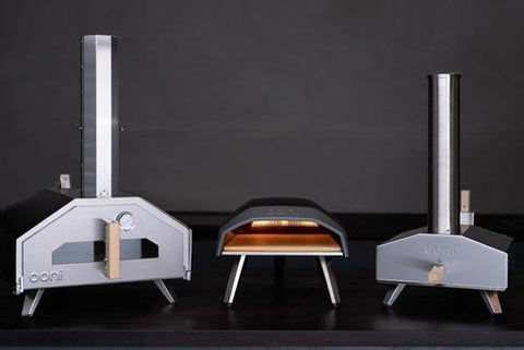 Ooni family of pizza ovens