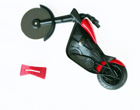 Image of Motorcycle Stainless Steel Pizza Cutter