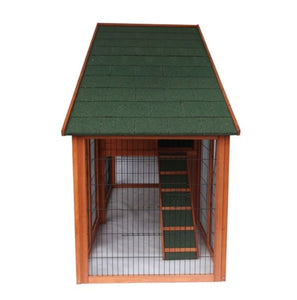Two Story Chicken Coop