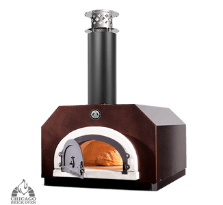 Chicago Brick Oven - CBO-500 - Copper Vein Color - Pizza Oven - Door Open