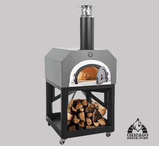 Chicago Brick Oven CBO-750 Mobile - Silver Vein coloring