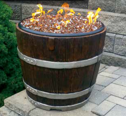 Hudson River - Astila Wine Barrel Fire Pit