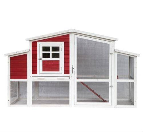Red Barn Style Chicken Coop