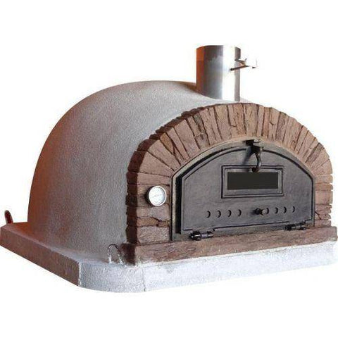 Image of Authentic Pizza Ovens - Buena Ventura Red Brick Premium Pizza Oven