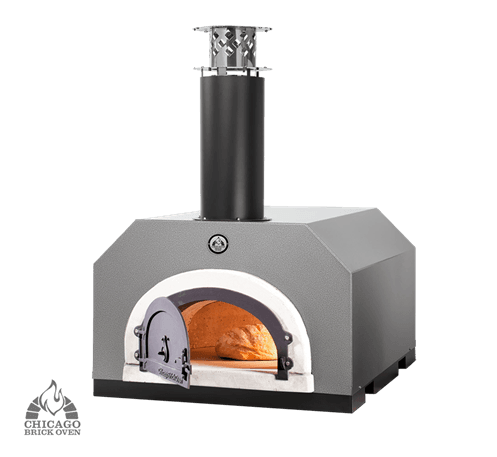 Chicago Brick Oven CBO-750 Countertop - Silver Vein coloring