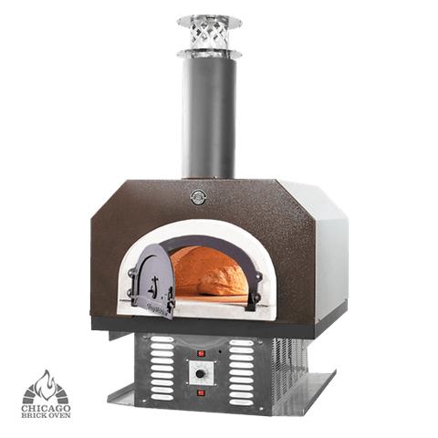 Image of CBO-750 Hybrid Build-in Countertop Gas and Wood-fired Pizza Oven