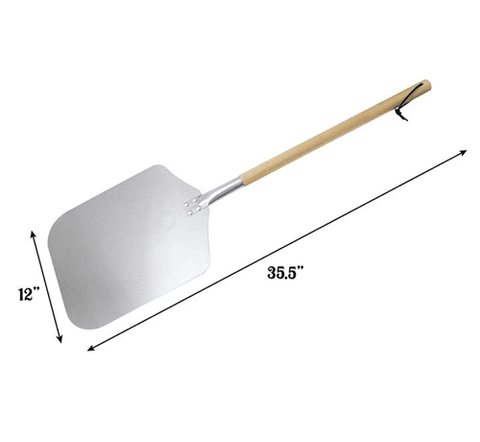 CBO Pizza Peel with Detatchable Wood Handle