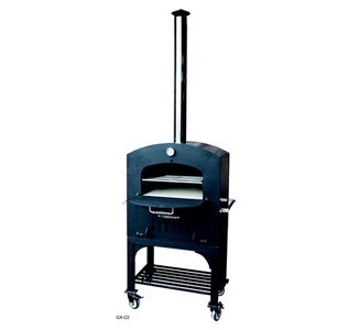 Tuscan Chef GX-C2 Wood Fired Oven on Cart