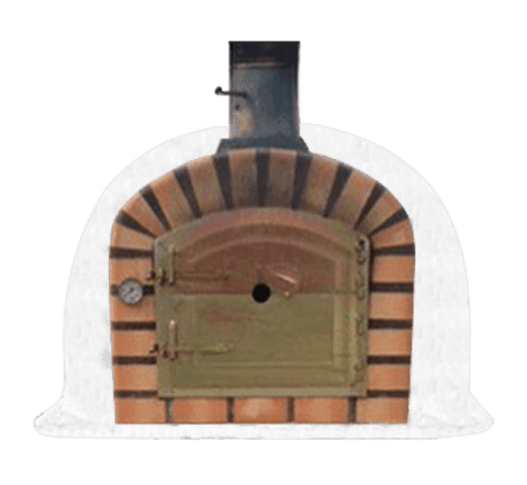 Image of Lisboa Authentic Pizza Oven - Terracotta Arch