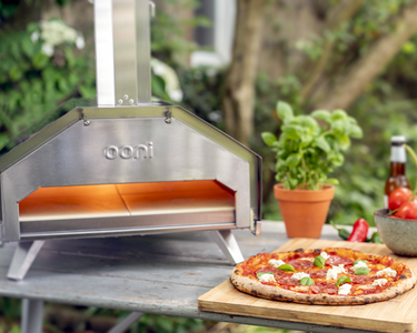 Ooni Pro Starter Bundle with Gas Burner Peel and Rocker Pizza Cutter