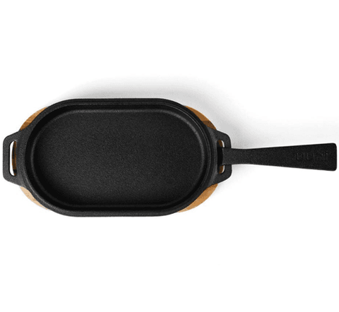 Image of Ooni Sizzler Oval Cast Iron