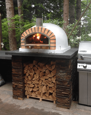 Image of Authentic Pizza Ovens Pizzaioli with Terracotta Arch