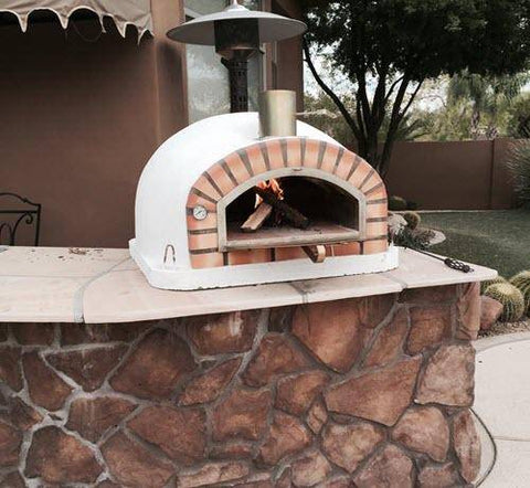 Authentic Pizza Ovens Pizzaioli with Terracotta Arch